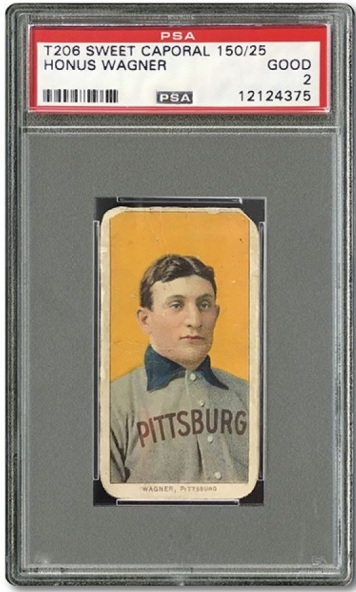 Honus Wagner T206 SCP Auctions