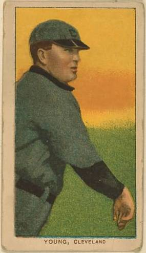 T206 Cy Young Throwing
