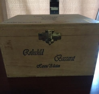 Tall Cigar Box