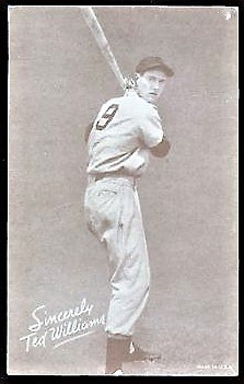 Ted Williams Salutation Exhibit with No. 9