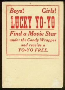 W554 Lucky Back Stamp Yo Yo