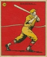 Babe Ruth 1933 C.A. Briggs
