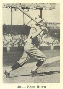 Babe Ruth Rogers Peet