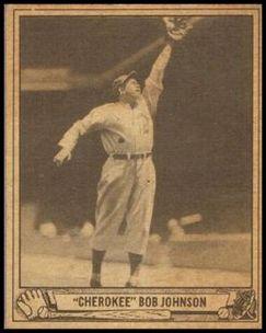 Cherokee Bob Johnson 1940 Play Ball