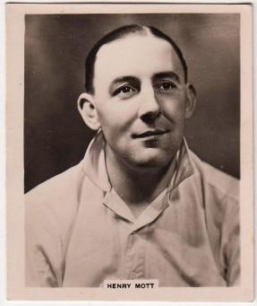 Gallaher Island Sporting Celebrities - Henry Mott (1938)