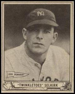 George Selkirk 1940 Play Ball