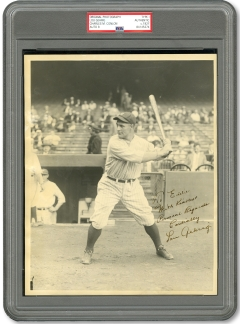 Lou Gehrig 1933 Goudey Type 1 Photo