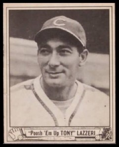 Tony Lazzeri Poosh Em Up 1940 Play Ball