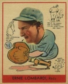 Ernie Lombardi 1938 Goudey Reds 270