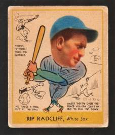 Rip Radcliff 1938 Goudey