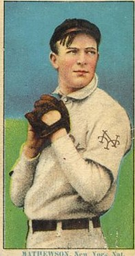 When Card Doctoring Goes Wrong Rare Christy Mathewson