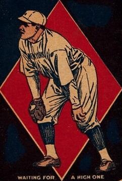 Babe Ruth 1921 Schapira Brothers