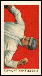 Willie Keeler E90-1 Throwing