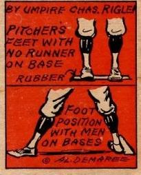 1935 Schutter Johnson Rigler Pitchers Feet