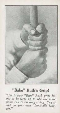 Babe Ruth Fro Joy Grip Card