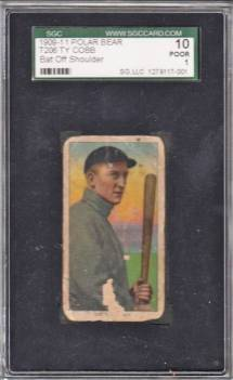 Ty Cobb Bat Off T206