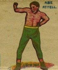 Abe Attell 1910s German Boxing Stamps