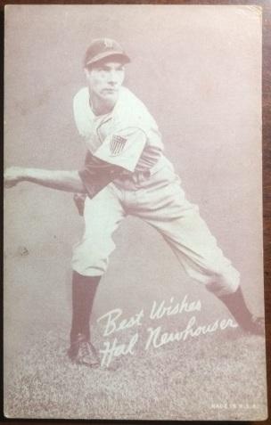 Hal Newhouser 1939-46 Salutations Exhibit