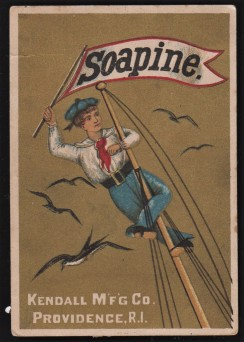 Soapine Sailor Trade Card