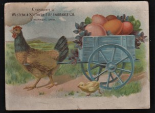 Western and Southern Life Insurance Company Trade Card