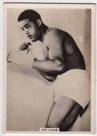 Joe Louis Ardath Photocards Boxing