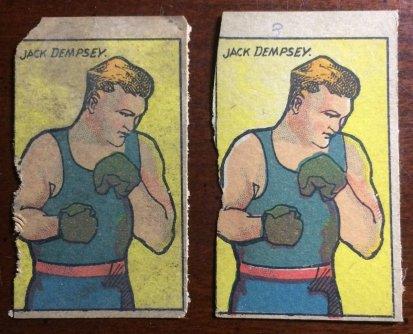 W529 Jack Dempsey Strip Cards