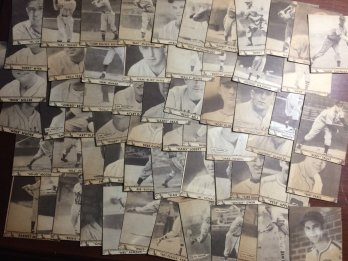 1940 Play Ball Trimmed Cards Lot