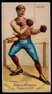 Allen and Ginter N31 Dudes Boxing