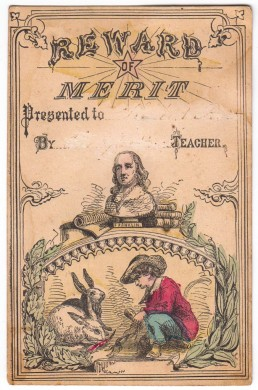 Benjamin Franklin Reward of Merit