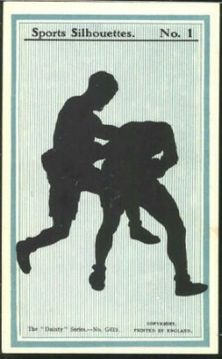 Dainty Series Sports SIlhouettes Boxing Card