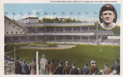 John McGraw Polo Grounds Postcard 2