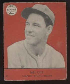 Mel Ott 1941 Goudey
