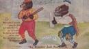 1907 Craker Jack Bears Baseball Postcard