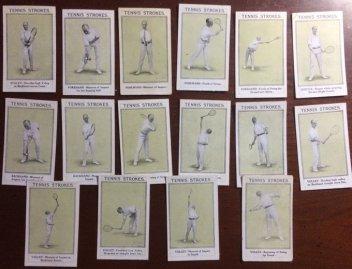 1923 Sarony Tennis Cards
