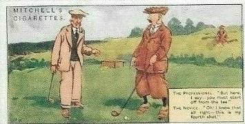 1924 Humorous Drawings Golf