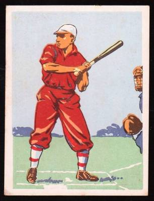 1936 United Tobacco Sports Pastimes of South Africa Baseball