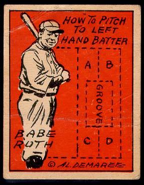Babe Ruth 1935 Schutter Johnson