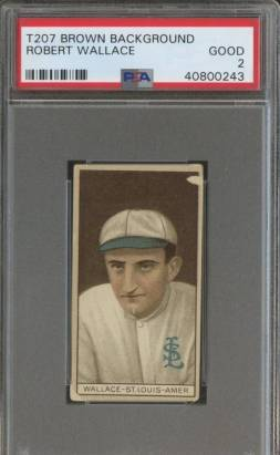 Bobby Wallace PSA Graded T207