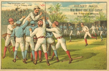 H804-3 Trade Card Umpire Lot