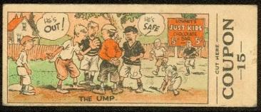 V49 Lowney Umpire Baseball