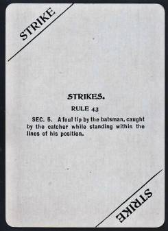 1904 Fan Craze Action Card