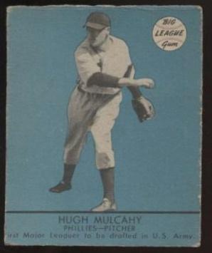 Hugh Mulcahy 1941 Goudey Blue