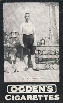 William Cummings Ogden Tabs Leading Athletes