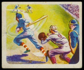 1940s Cracker Jack Sports Baseball