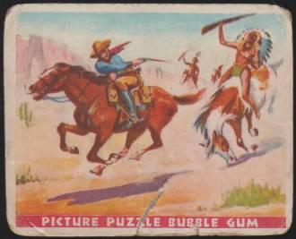 R172 Gum Inc. Wild West Series Pony Express 1933