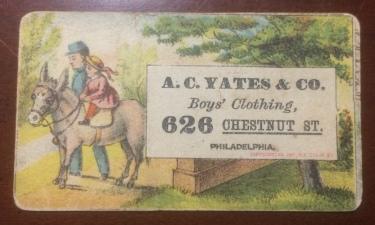 1881 Tobin Trade Card