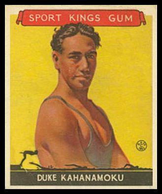 1933 Goudey Sport Kings Duke Kahanamoku
