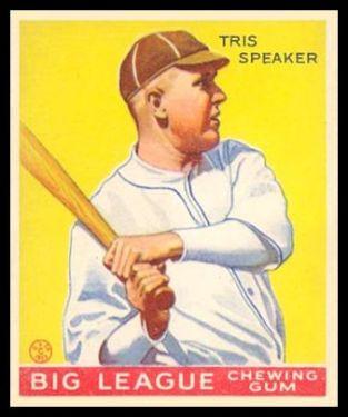 1933 Goudey Tris Speaker