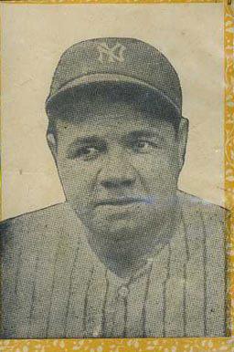 1946-47 Propagandas Montiel Babe Ruth