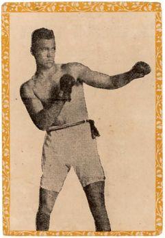1946-47 Propagandas Montiel Jack Dempsey